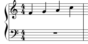 four-four sample