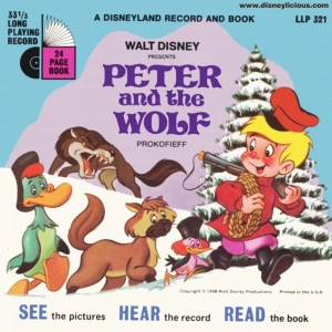 new disney peter and the wolf