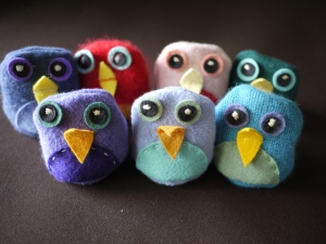 row-of-birds